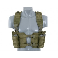 Chaleco Chest Rig Verde Delta Tactics