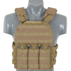 Chaleco Chest Rig Tan Delta Tactics