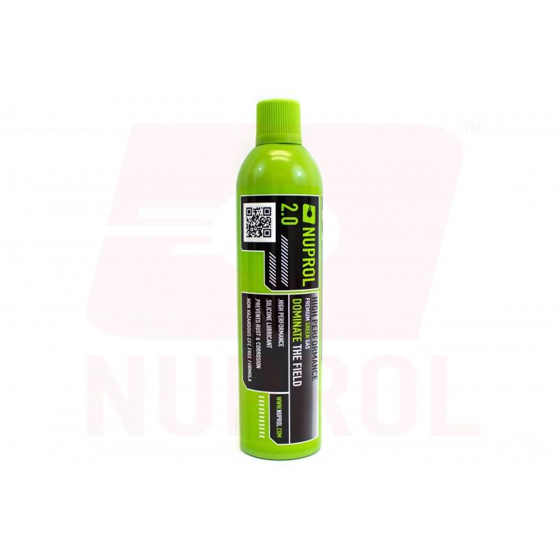 GAS NUPROL 2.0 PREMIUM GREEN 1000ML
