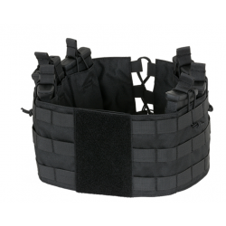 Chaleco Chest Rig Negro Delta Tactics