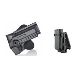 Pistolera + Porta Cargador para Beretta