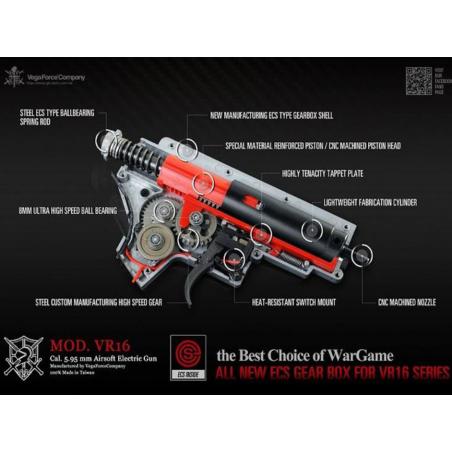 Subfusil VFC Vega VR16 FIGHTER CARABINE MK2