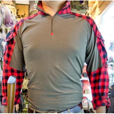 "FFI GEN3 TAC Lumberjacks Shirt Red ""Camisa leñador """