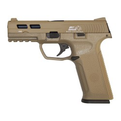 PISTOLA ICS BLE-006-SD3 XAE GAS BLOWBACK TAN