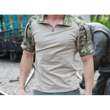 Camiseta Multicam Manga Corta