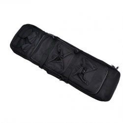 Funda Transporte  rifle 120 cm NEGRO