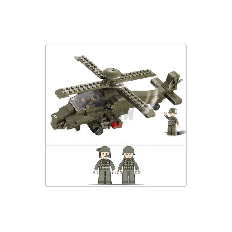 HELICOPTERO HIND 199 PCS