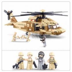 HELICOPTERO BLACK HAWK 439 PCS