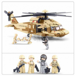 HELICOPTERO BLACK HAWK 439 PCS