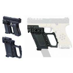 Kit tactical para Glock 17,18,19 TAN
