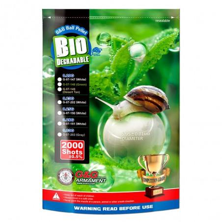 G&G BIO BB 0.28G / 2000R (WHITE)