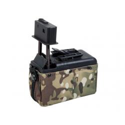 Cargador 1500rd eléctrico M249 Multicam