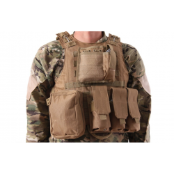 CHALECO PLATE CARRIER TAN DELTA TACTICS