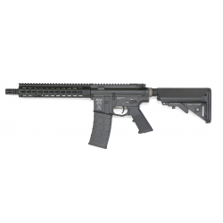 AIRSOFT SYSTEMS AIRSOFT ELECTRIC GUN AR-15 CQB 275MM BARREL - BK