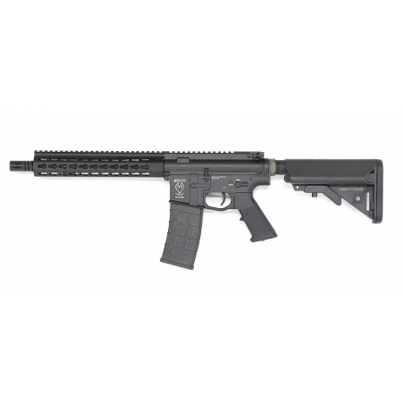 AIRSOFT SYSTEMS AIRSOFT ELECTRIC GUN AR-15 CQB 275MM BARREL - BK