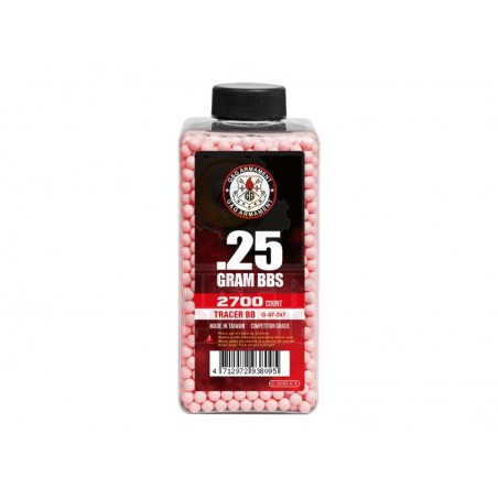 G&G Tracer BB 0.25g 2700R (Red)